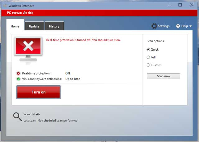 Watch How to Turn On Windows Defender video