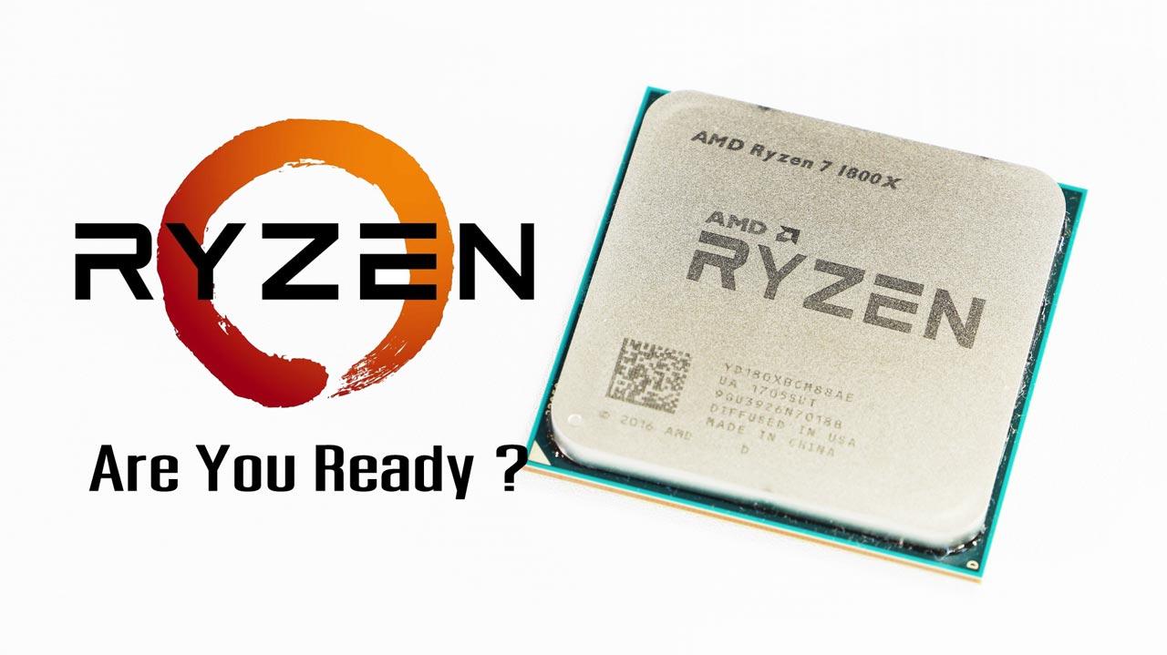 AMD RYZEN 7 1800X Review – The New Era of AMD | ZoLKoRn CoM